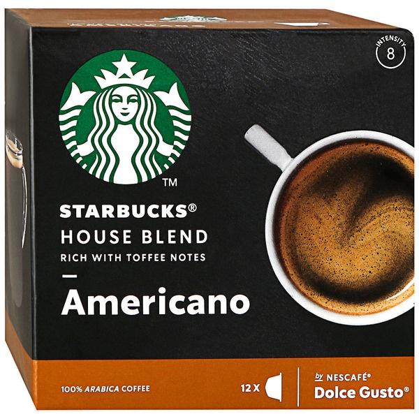 Капсулы для кофемашин Starbucks House Blend Americano
