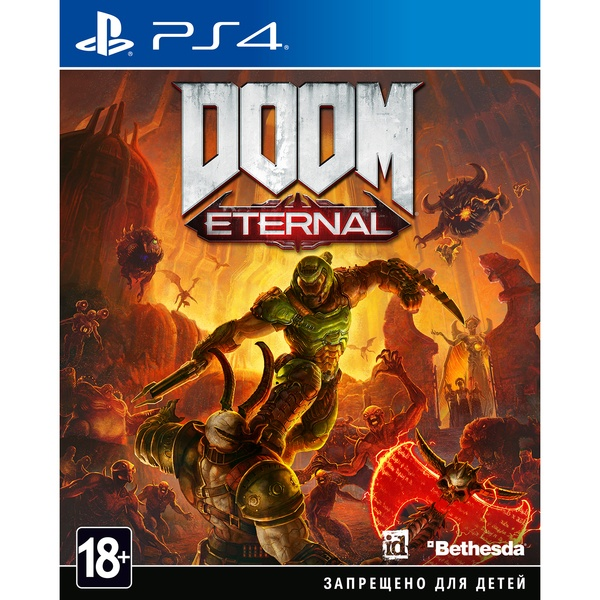 DOOM Eternal PS4, русская версия DOOM Eternal PS4, русская версия фото