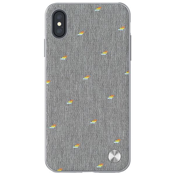 Чехол для смартфона Moshi Vesta для iPhone XS Max серый фото