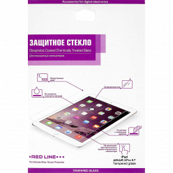 Защитное стекло Red Line для Apple iPad Air/Air 2/Pro 9.7/iPad (2017) tempered glass