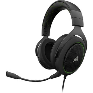 Corsair Gaming HS50 Stereo Headset, Green
