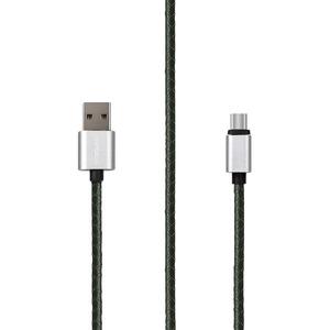 Rombica USB-USB Type-C, 1 м, темно-зеленый (cl-01)