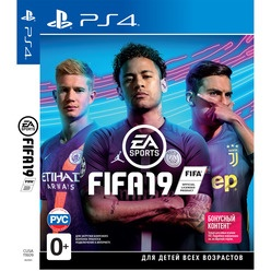 FIFA 19 PS4, русская версия