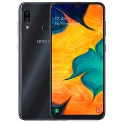 Смартфон Samsung Galaxy A30 64GB (2019) Black