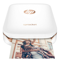 Фотопринтер HP Sprocket Photo Printer, White