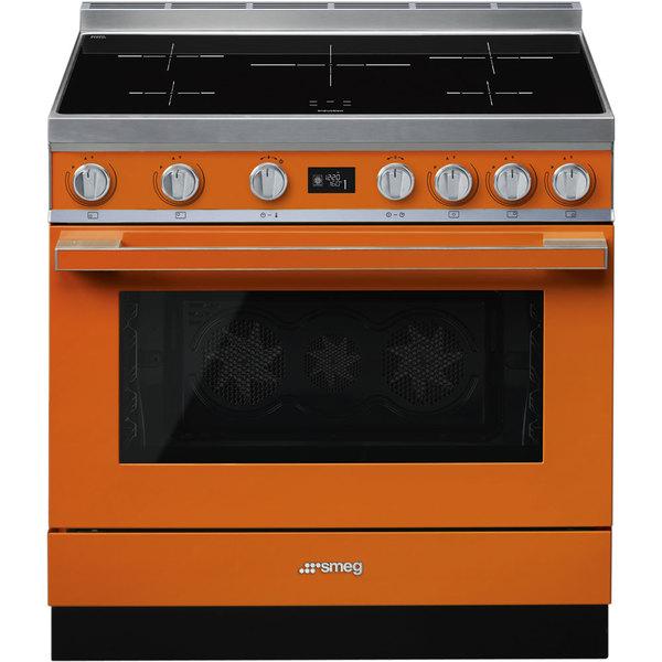 Купить Плита Smeg CPF9IPOR, оранжевый