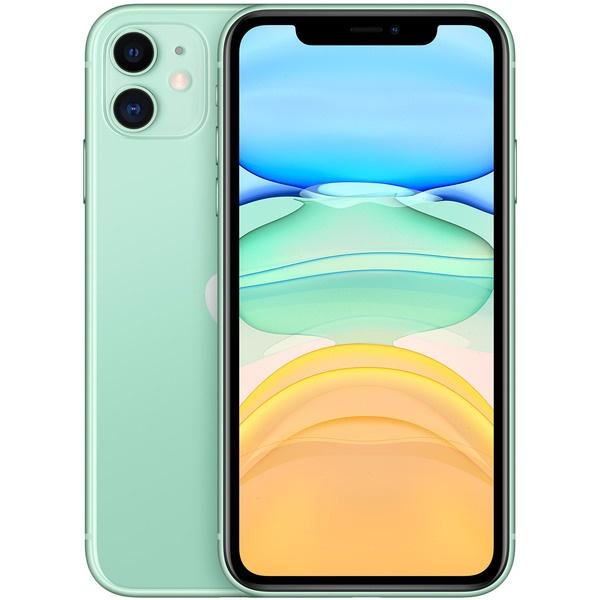 Смартфон Apple iPhone 11 128 ГБ зелёный