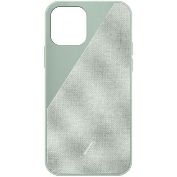 Чехол для смартфона Native Union Clic Canvas для iPhone 12 Pro Max, зелёный