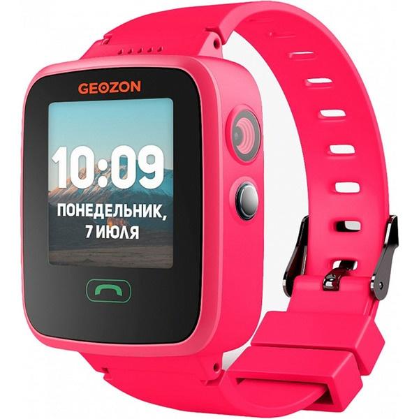 Детские умные часы GEOZON Aqua Pink розового цвета