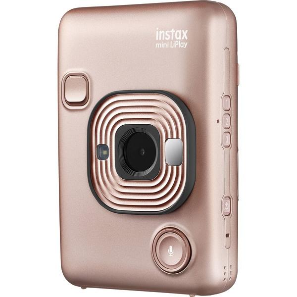 Фотоаппарат мгновенной печати Fujifilm Instax LiPlay Blush Gold Bundle Hard