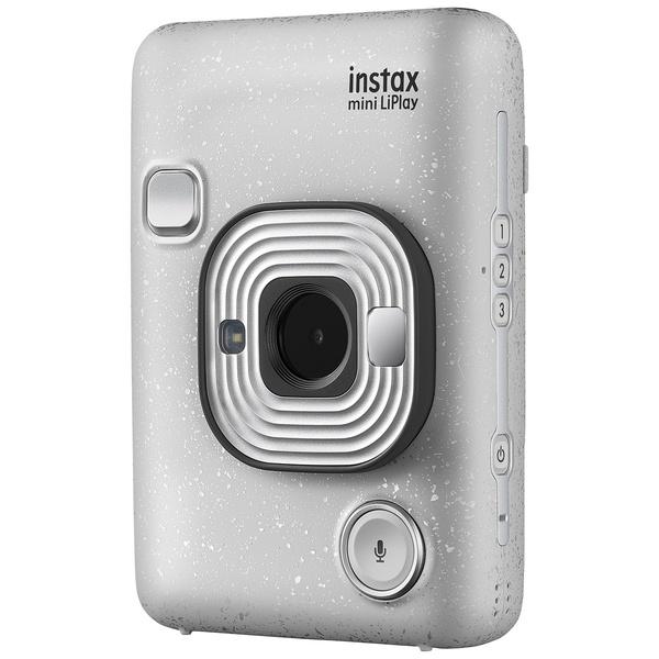 Фотоаппарат мгновенной печати Fujifilm Instax LiPlay Stone White Bundle Hard
