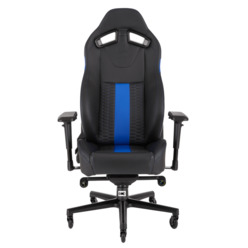 Компьютерное кресло Corsair Gaming T2 ROAD WARRIOR Gaming Chair Black/Blue