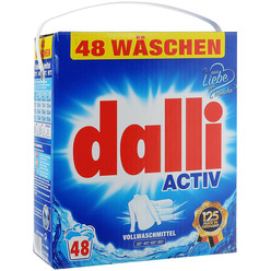 Порошок Dalli Activ для цветного и белого белья