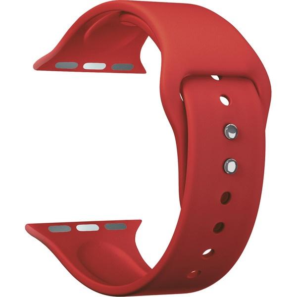 Ремешок для умных часов Lyambda Altair 42/44 мм, красный (DS-APS08-44-RD)