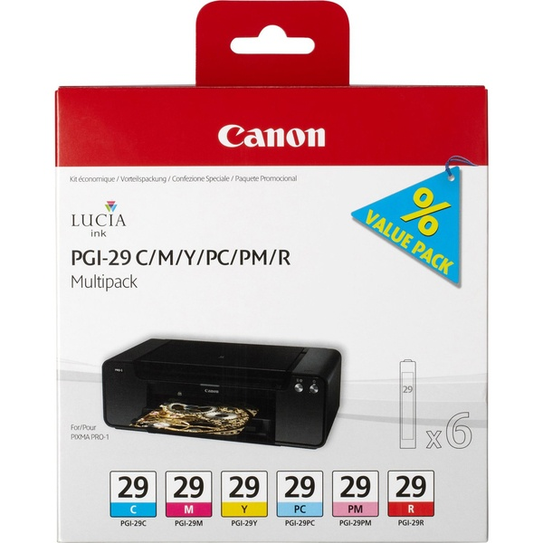 Картридж Canon PGI-29 CMY/PC/PM/R 4873B005