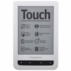Электронная книга PocketBook 622 Touch черно-белый
