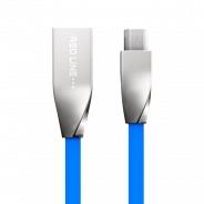 Red Line Smart High Speed USB-microUSB, синий