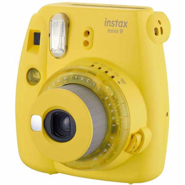 Фотоаппарат мгновенной печати Fujifilm Instax Mini 9 Clear Yellow EXD фото