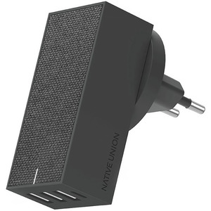 Native Union Smart 4 Charger, серый (SM4-GRY-FB-INT)