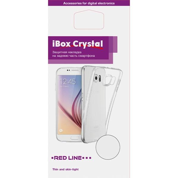 Чехол для смартфона Red Line iBox Crystal для Xiaomi Redmi Note 7, прозрачный