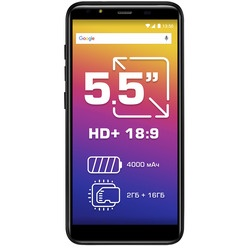 Смартфон Prestigio Muze E5 LTE, Black (PSP5545DUO)