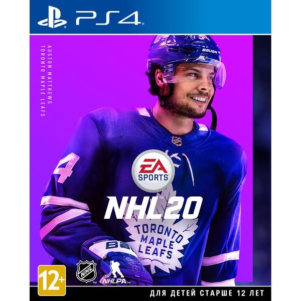 EA NHL 20 PS4, русские субтитры NHL 20, русские субтитры