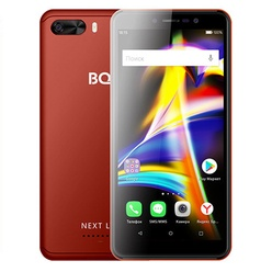 Смартфон BQ 5508L Next LTE красный
