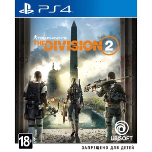 Tom Clancys Division 2 PS4, русская версия