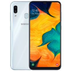 Смартфон Samsung Galaxy A30 32GB (2019) White