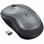 Logitech  M185, Swift Grey серебряная (910-002238)