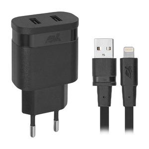 RivaCase VA4125 BD2 (2 USB), черный