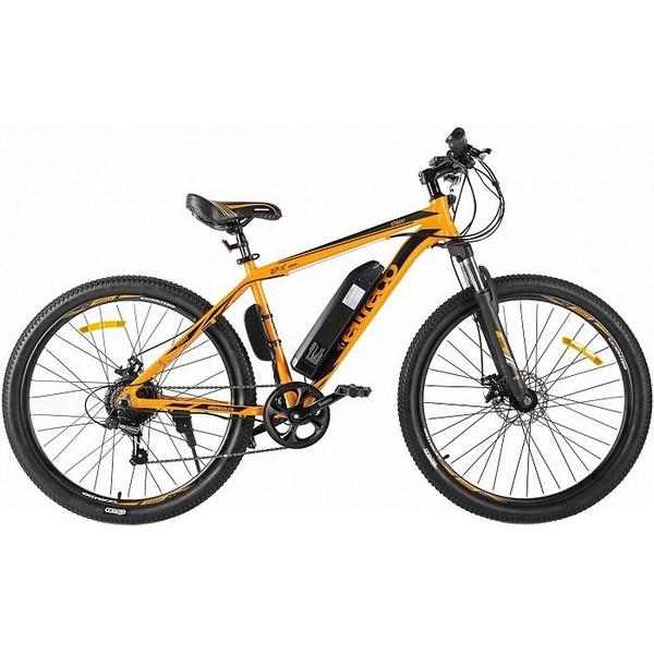 Электровелосипед Eltreco XT 600, оранжево-черный-2127