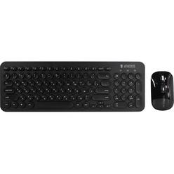 Комплект клавиатуры и мыши Jet.A SlimLine KM30 W черная