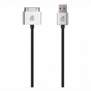 uBear DC02BL01-I4 30pin-USB Data Sync, черный