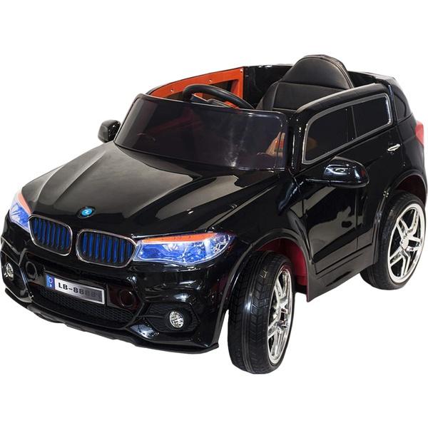 Детский электромобиль Toyland BMW X5 черный фото