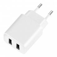 Deppa СЗУ 2 USB 2.1А, белый, Ultra (11307)