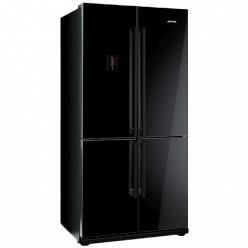 Холодильник черный Smeg FQ 60NPE