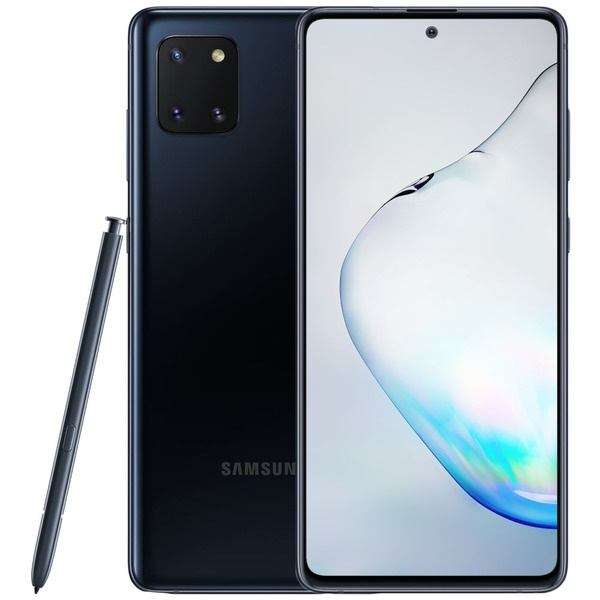 Смартфон Samsung Galaxy Note10 Lite черный фото