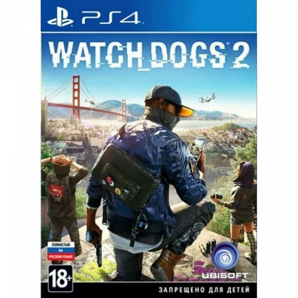 Watch_Dogs 2 PS4, русская версия UbiSoft Ubisoft Watch_Dogs 2 PS4, русская версия