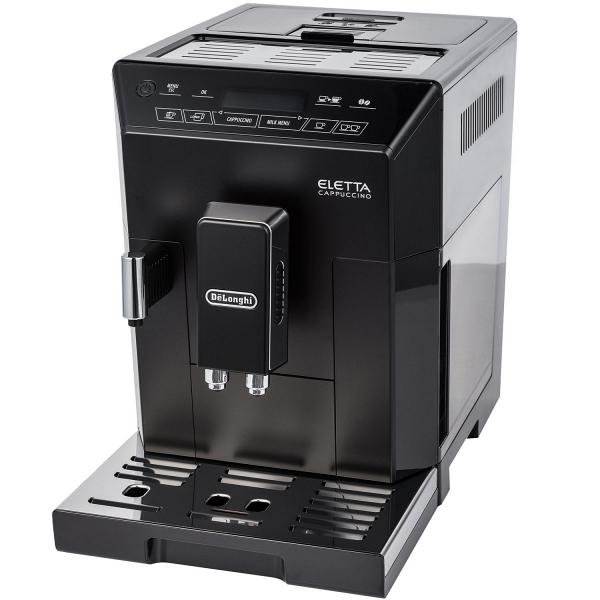 Кофемашина Delonghi ECAM 44.664.B черного цвета