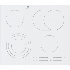 Белая варочная панель Electrolux EHF96547SW