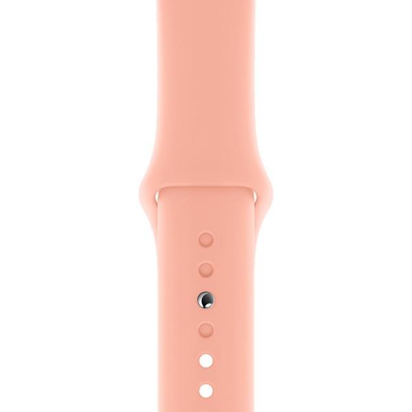 Ремешок для умных часов Apple Watch 40 мм, розовый грейпфрут (MXNU2ZM/A)