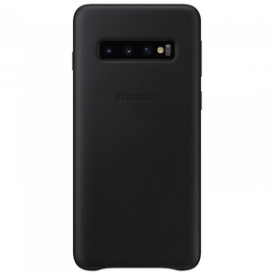 Samsung Leather Cover S10, black