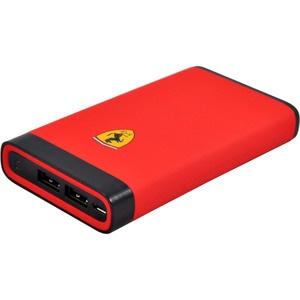 Ferrari Rubber Soft-touch 10000 мАч, красный (FESPBW10KRE)