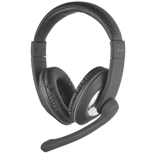 Наушники Trust Reno Headset черного цвета