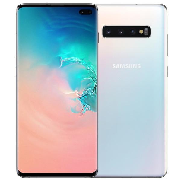 Смартфон Samsung Galaxy S10+ 128 ГБ перламутр