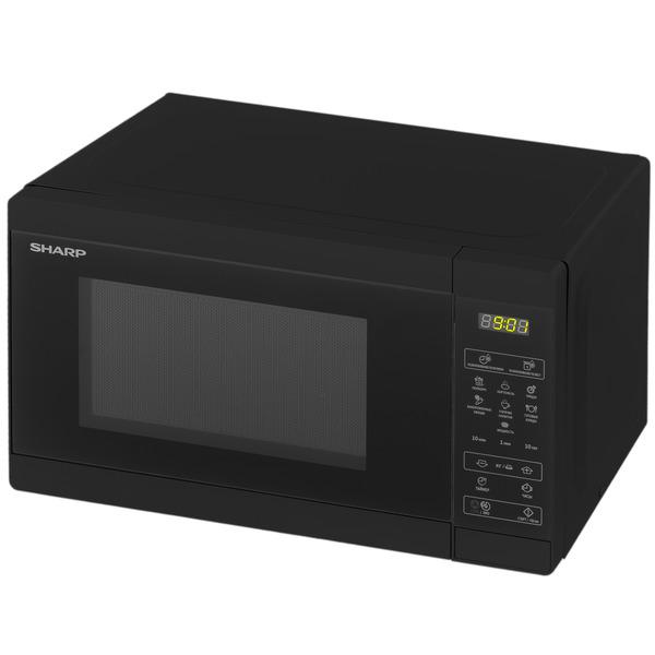 Микроволновая печь Sharp R2800RK черного цвета