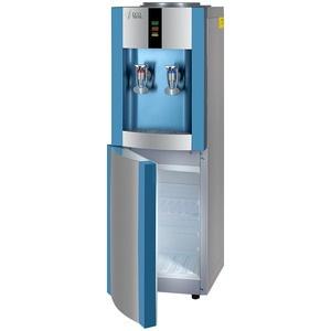 Кулер для воды Ecotronic H1-LCE (1539) серебристый/голубой