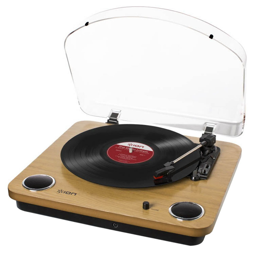 Проигрыватель виниловых пластинок ION Audio Max LP Wood бежевого цвета