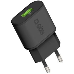 SBS TETR1USBQCH3 (USB/2.1 A), черный